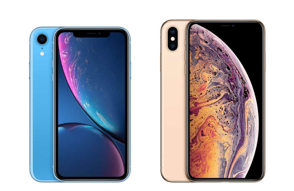 iPhone xr vs iPhone xs max