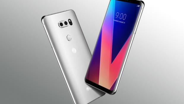 The LG V30 is a flagship in every sense of the word, whereas