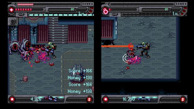 Alien Massacre 2 review (Java)