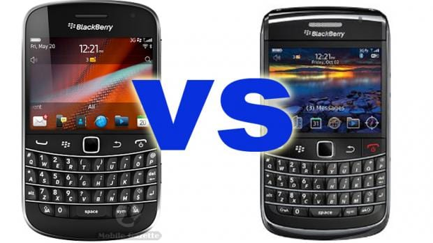 More in-fighting BlackBerrys this time round with two Bolds