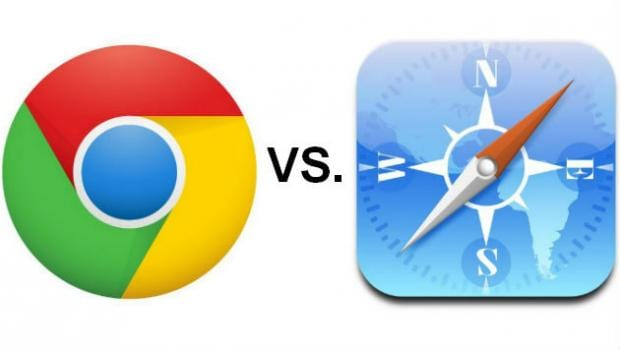 We look at how the new Chrome for iOS compares to Apple's