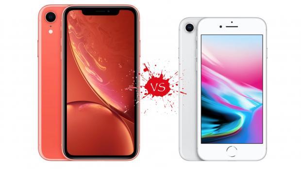 Iphone Xr Vs Iphone 8 Wie Vergleichen Sie