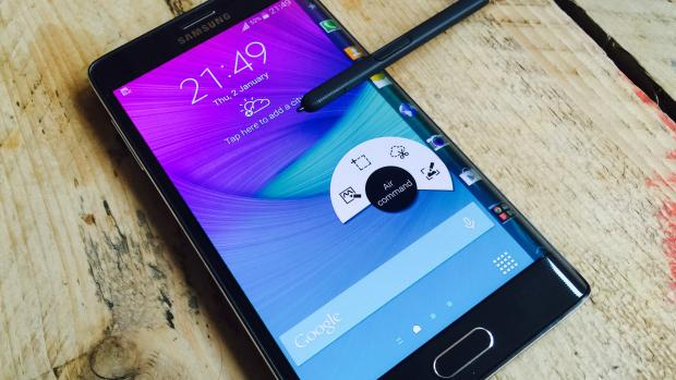 Like the Galaxy Note 4, the Galaxy Note EDGE packs something