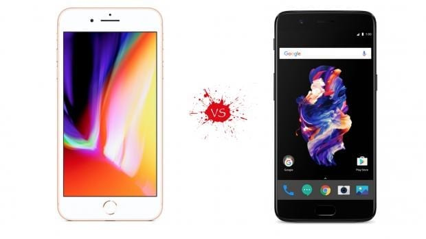 iPhone 8 Plus vs OnePlus 5 – How Do They Compare?