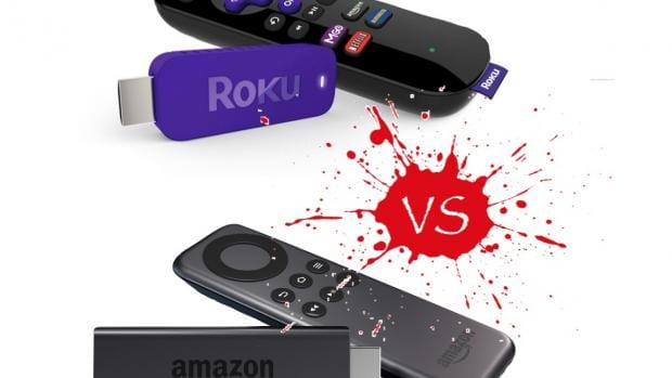 They're both stick-style media streamers but which is best