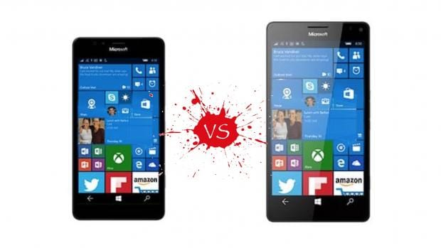 The first Windows 10 Mobile flagships face off! Meet the Microsoft