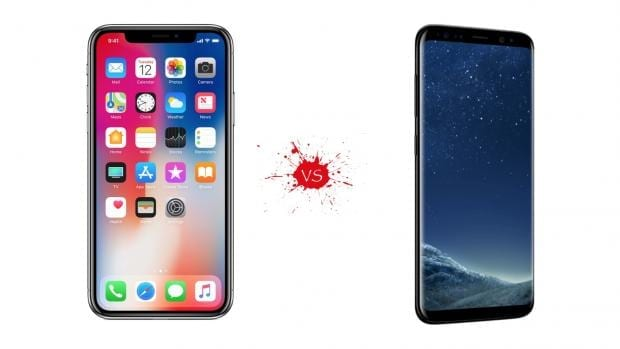 iPhone X vs Samsung Galaxy S8 – Which Is The Best Phone?
