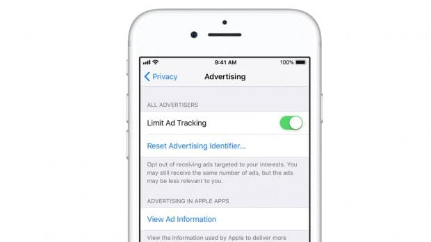 iOS 11 features built-in privacy protections against ads