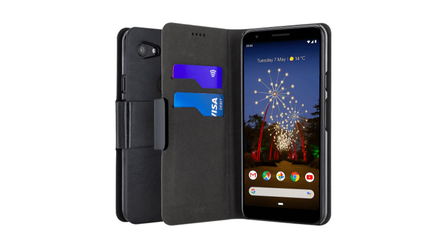 Olixar Leather-Style Google Pixel 3a Wallet Stand Case