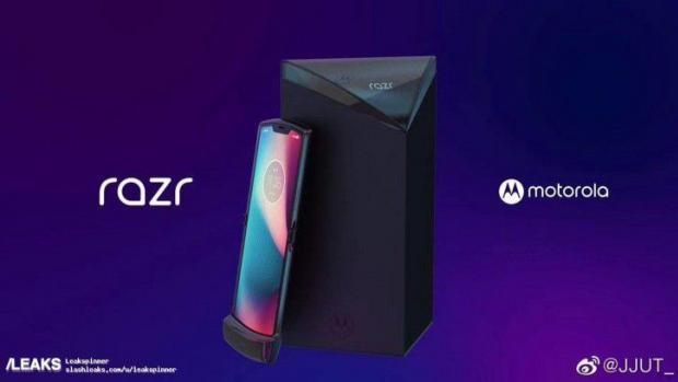 Here's What Motorola's Folding Razr Looks Like