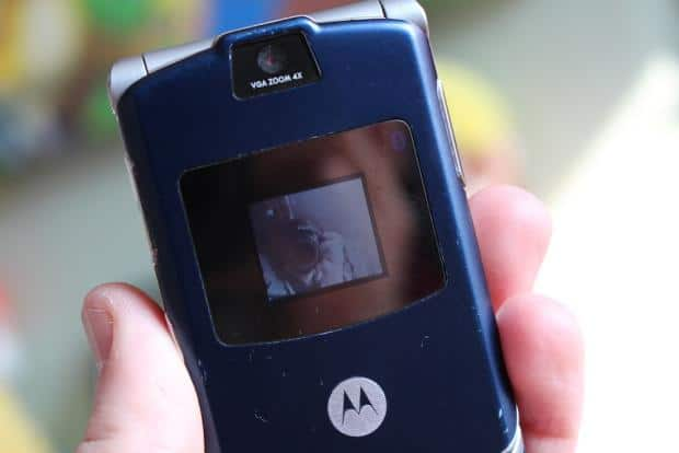 Motorola RAZR V3 Review - 2004's Best Phone In 2019