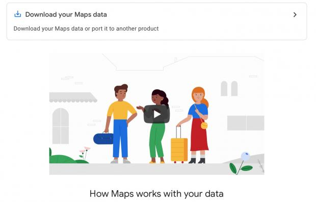How To Download And Export Your Starred Google Maps