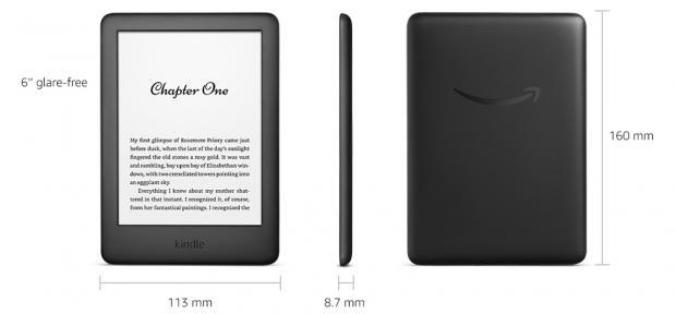 Amazon's New Kindle (2019) VS. Kindle (2016)
