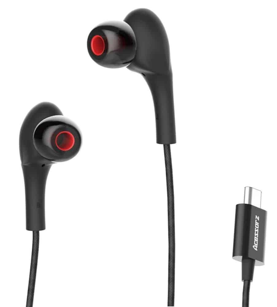 Acessorz USB Type C Earphones