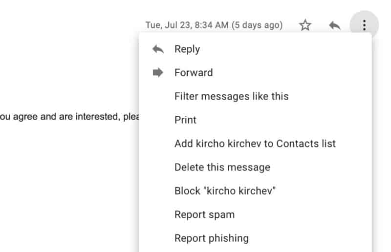 How To Block Email Spam In Gmail