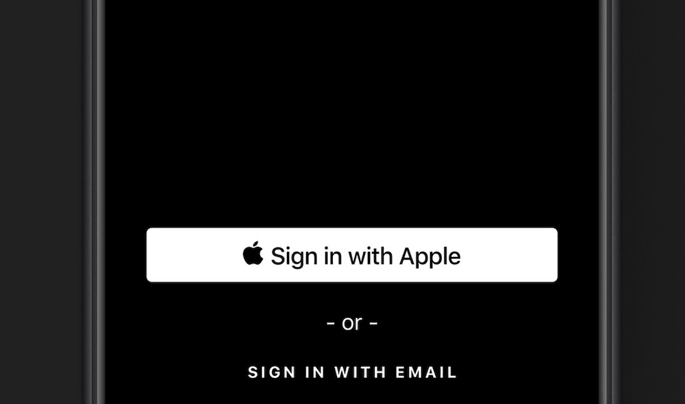 ios 13 sign in with apple