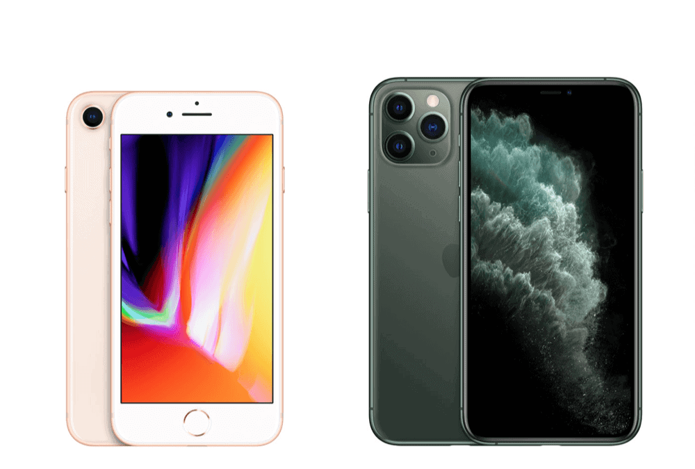 iPhone 11 Pro vs iPhone 8–How Do They Compare?
