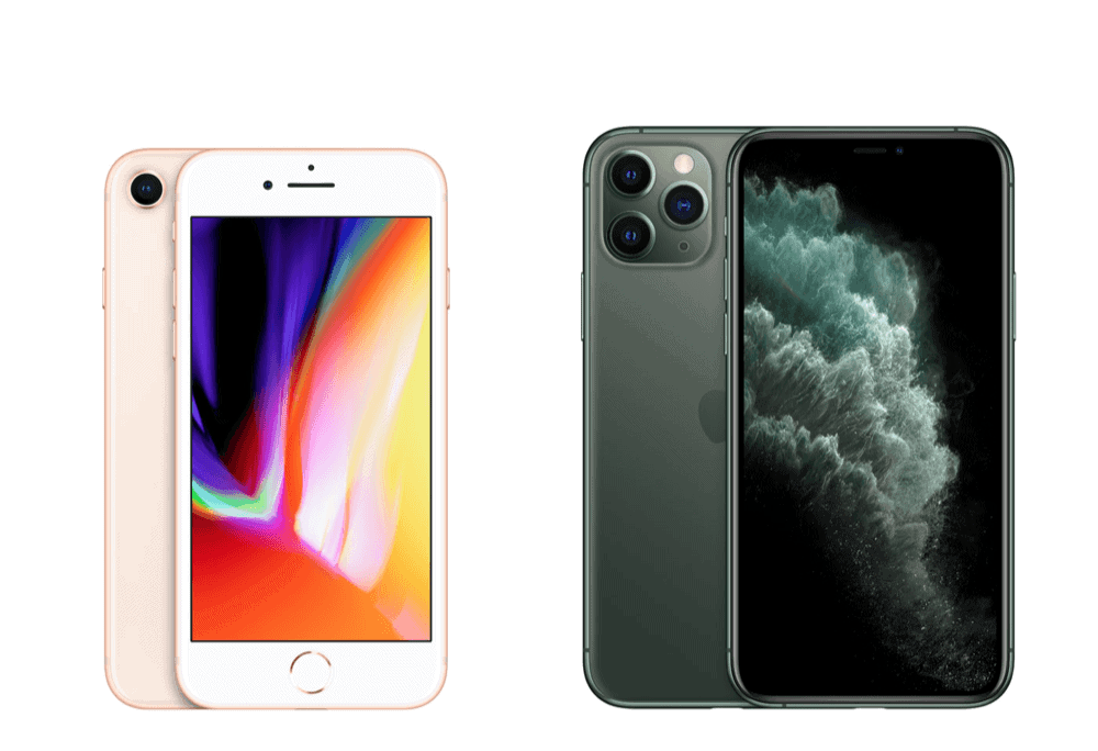iPhone 8 vs iPhone 11 Pro