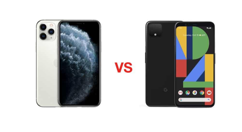 iPhone 11 pro vs pixel 4 xl