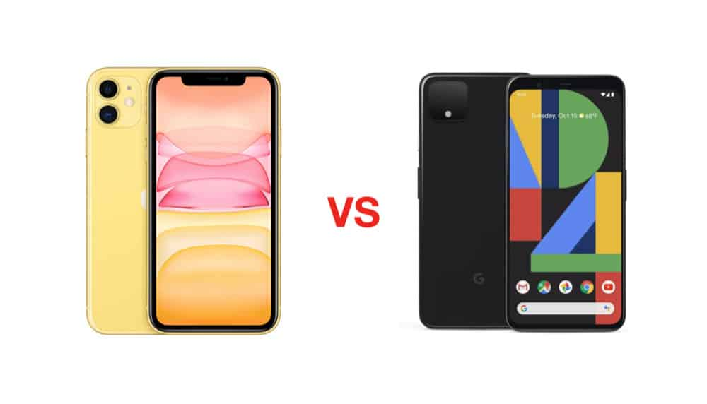 iPhone 11 vs pixel 4 xl