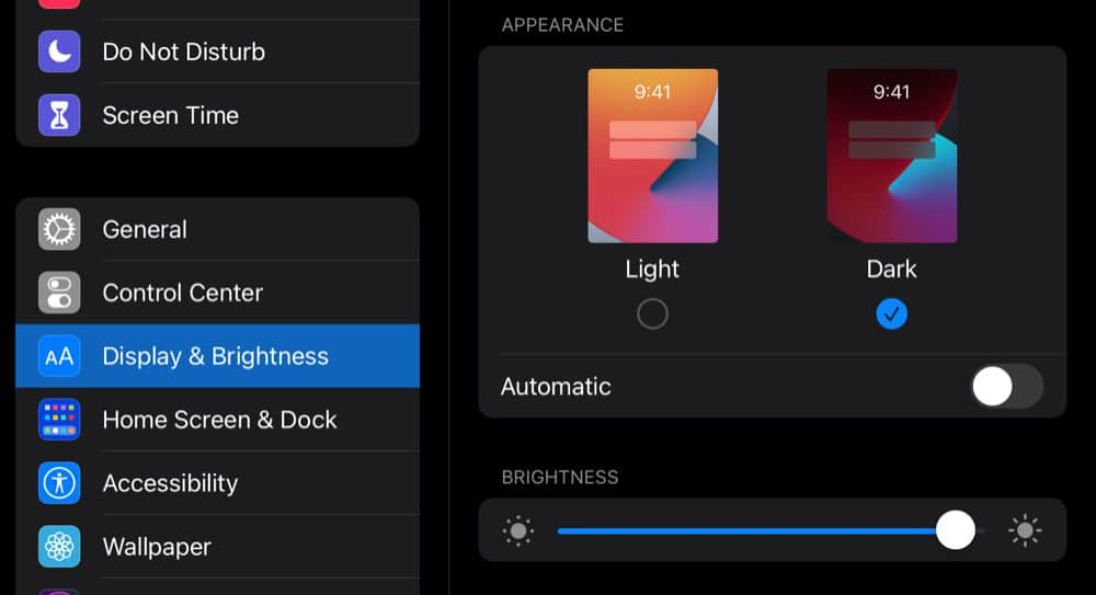 How To Turn on iPhone & iPad Dark Mode (#1 Easiest Method)