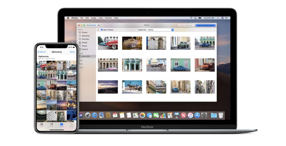 How To Download Photos From An iPhone To A Mac