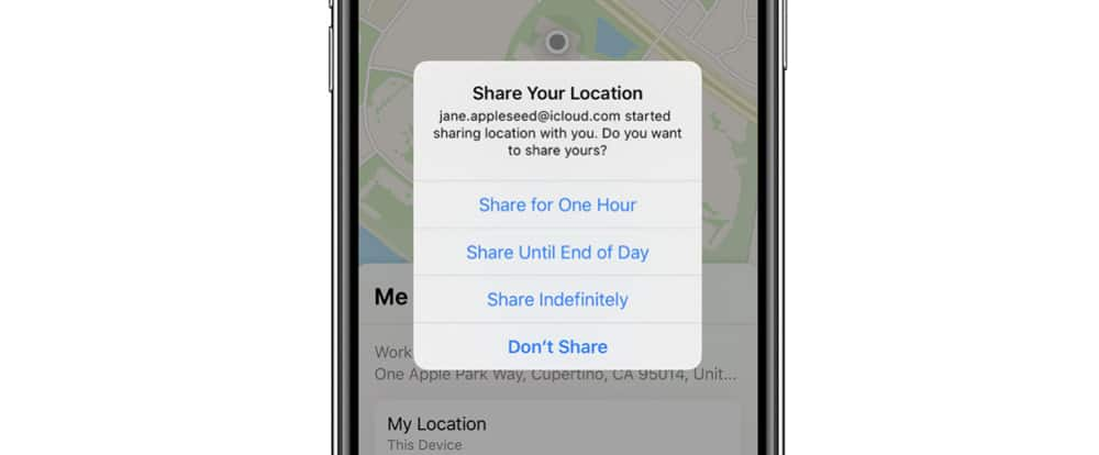 How To Share You Location On iPhone