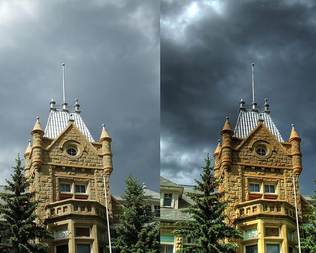 HDR Image vs Standard Image