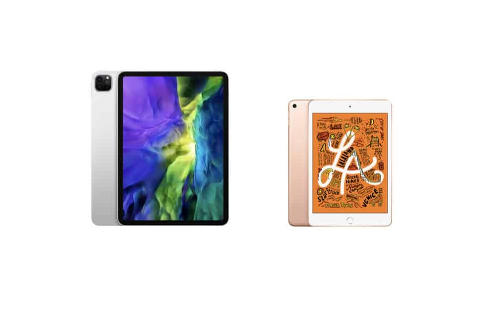iPad Pro (2020) vs iPad mini (5th generation)