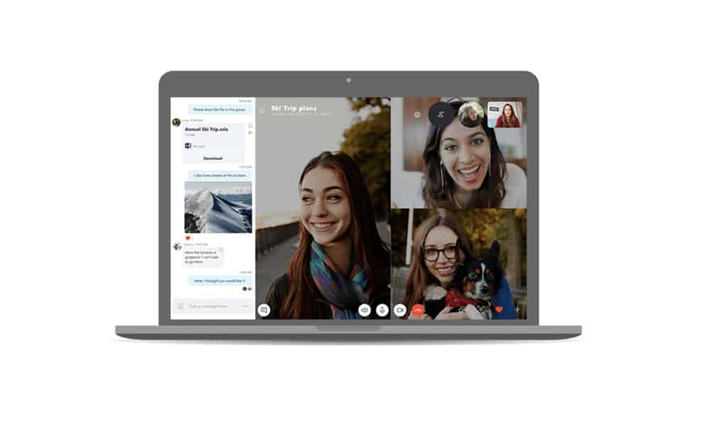 How to make skype video calls