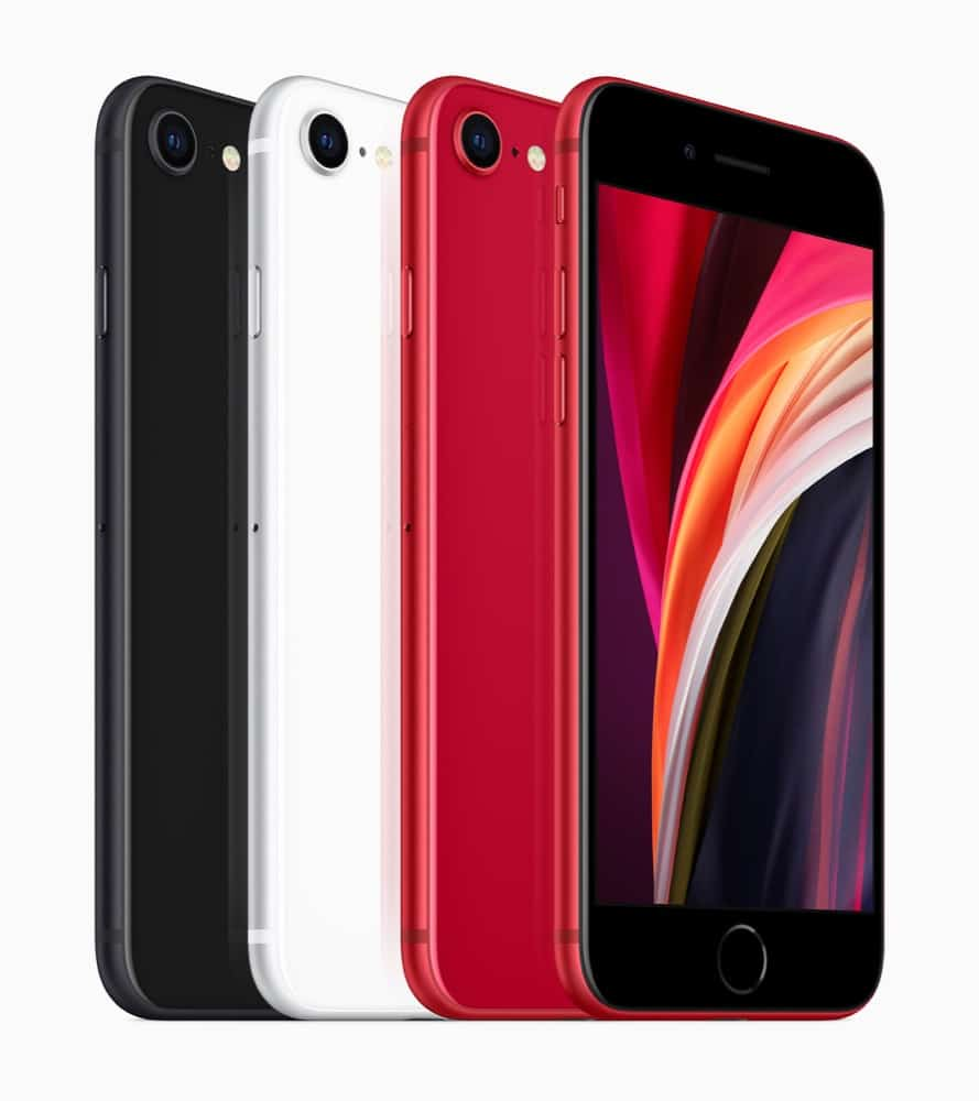 iPhone SE (2nd generation) colors