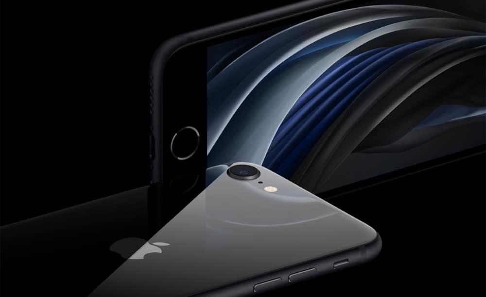 iPhone SE (2nd generation) splash