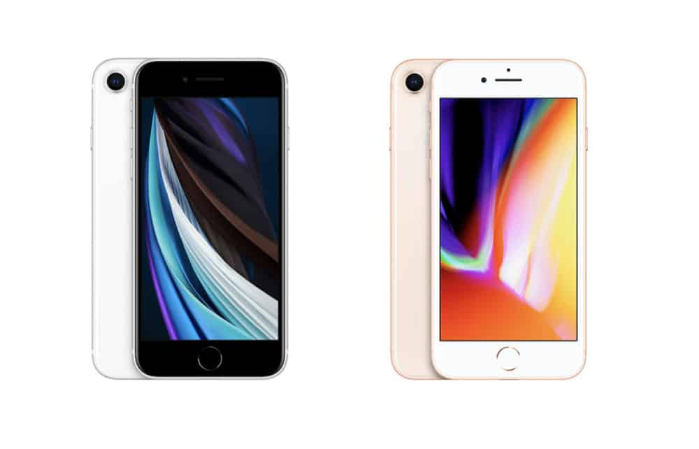 iPhone SE (2nd generation) vs iPhone 8