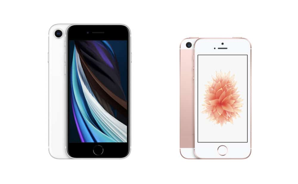 iPhone SE (2nd generation) vs iPhone SE (1st generation)