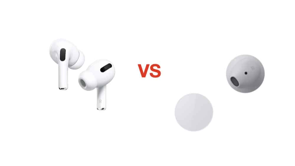 Apple's AirPods Pro (2019) vs Microsoft's Surface Earbuds (2019)