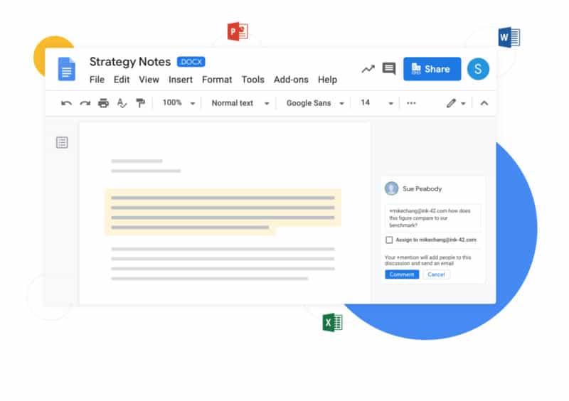 google drive collaboration
