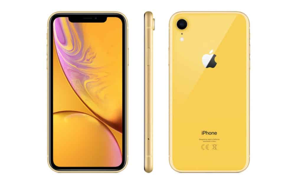 iPhone-XR-yellow