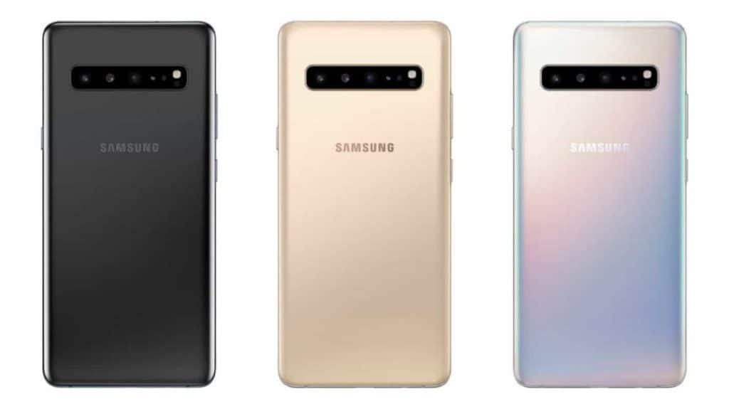 Galaxy S10 5G colors