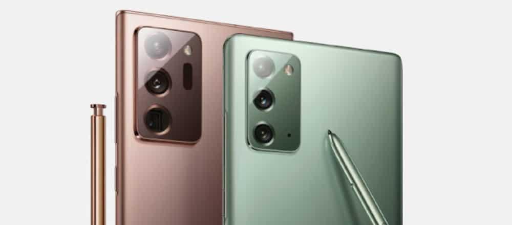 Samsung Galaxy Note 20 & Galaxy Note 20 Ultra Cameras