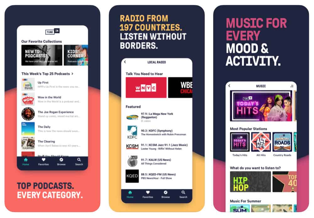 Best iPhone Apps For Free Music