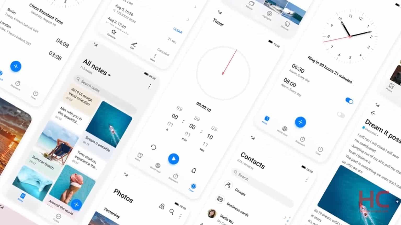 EMUI 11 release feature