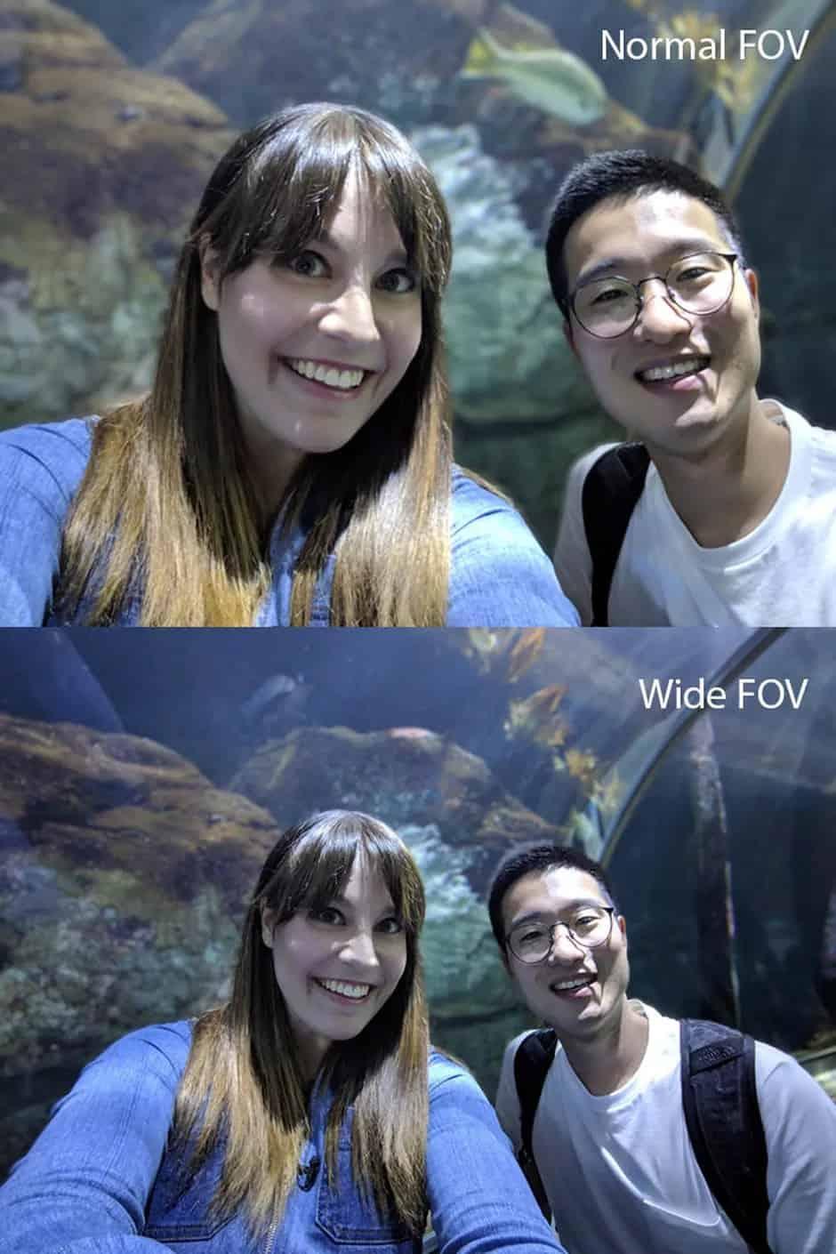 Pixel 3 selfie cam