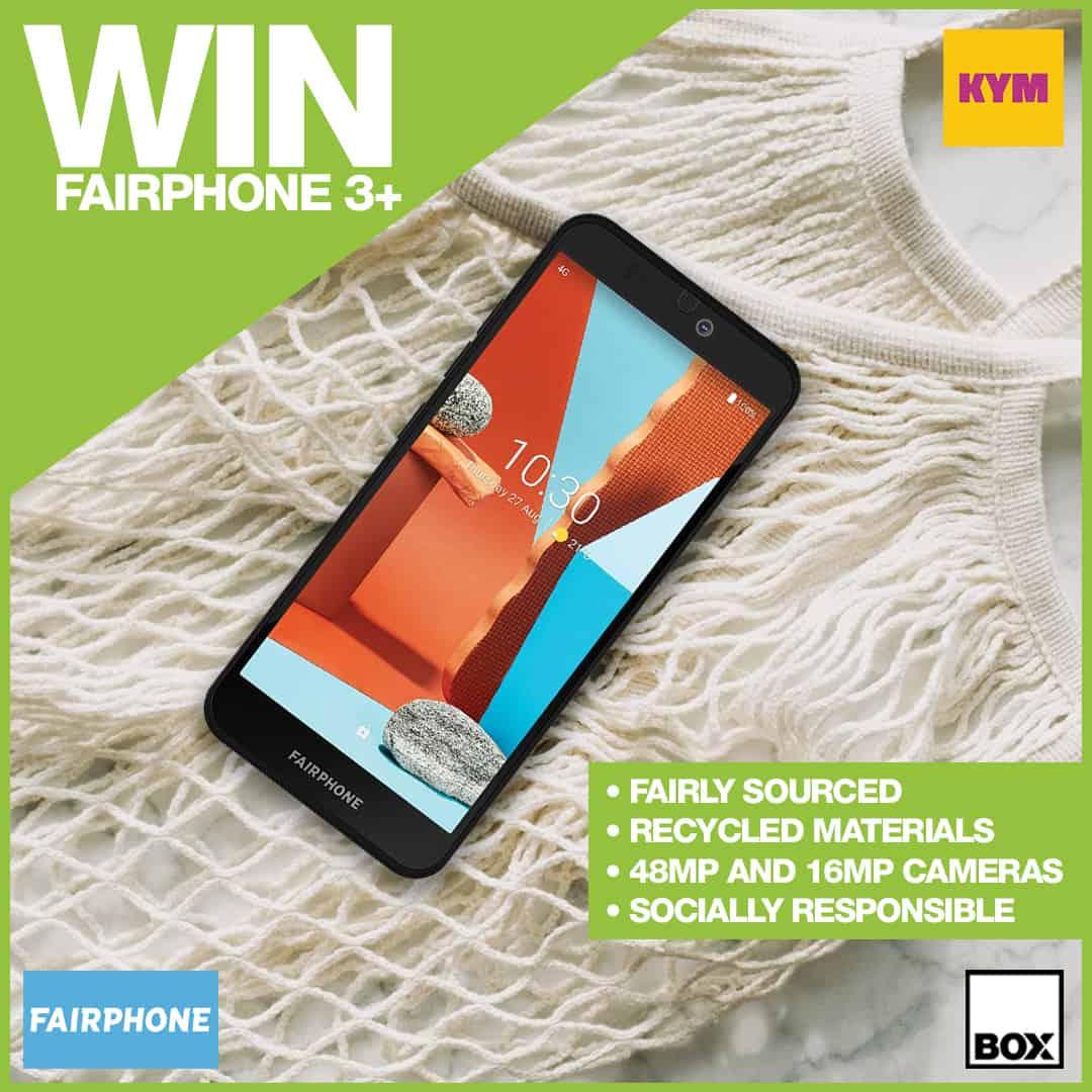 Fairphone 3+ Giveaway