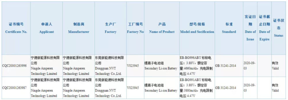 galaxy-s21-battery-specifications