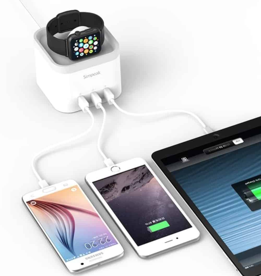 Simpeak 4 Apple Watch Charger