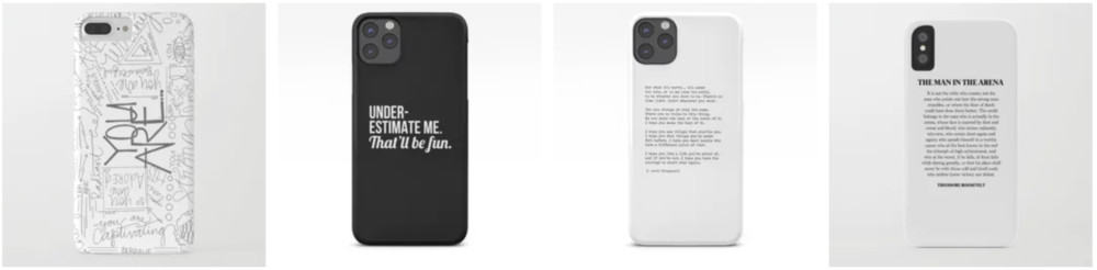 Best iPhone Cases With Quotes-1