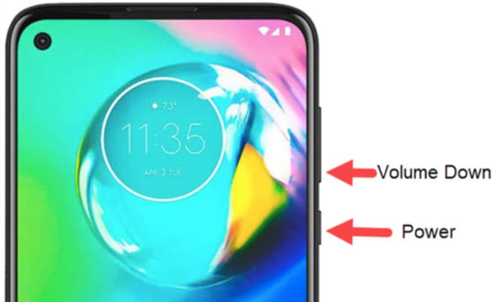 How To Screenshot on Moto G Stylus