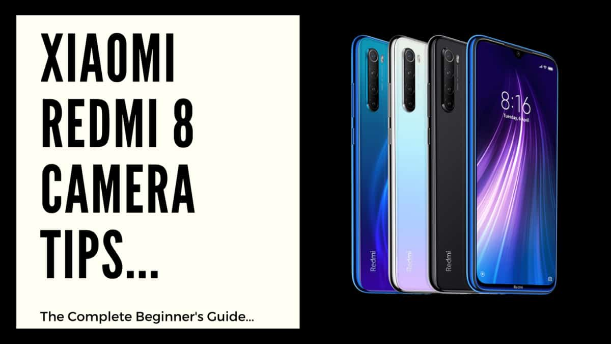 xiaomi redmi 8 camera tips