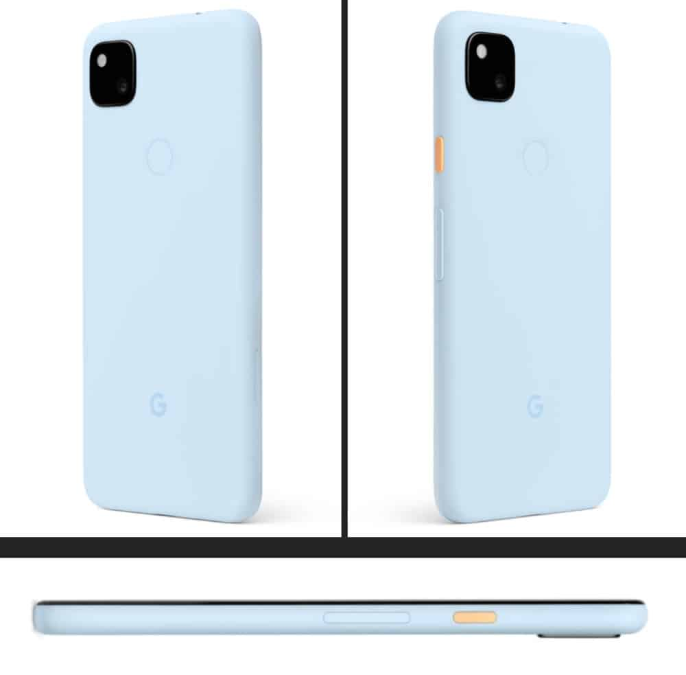 Barely Blue Pixel 4a