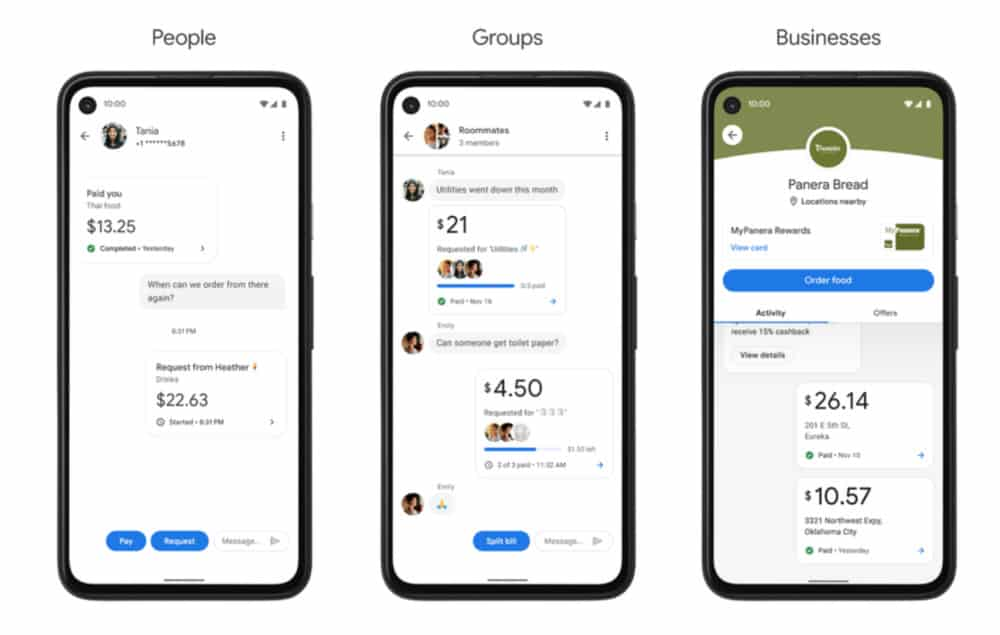 New Google Pay App w: PLEX Accounts